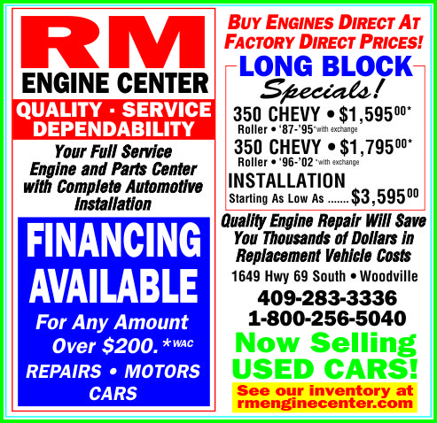 RM Engine Center Ad