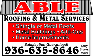 Able Roofing Ad