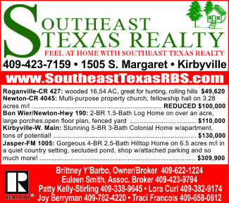 Southeast Texas Realty Ad