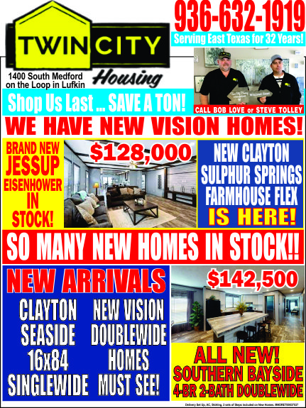 Twin City Housing Ad